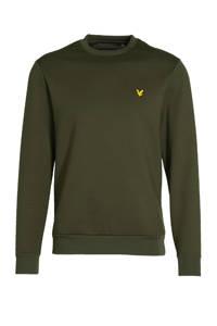 Lyle & Scott sweater donkergroen, Donkergroen