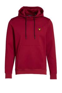 Lyle & Scott hoodie rood, Rood