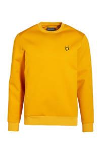 Lyle & Scott sweater okergeel, Okergeel