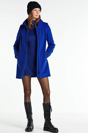 coat Novalee met wol blauw