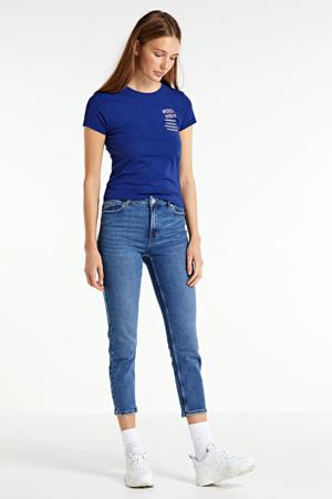 T-shirt Lila van biologisch katoen blauw