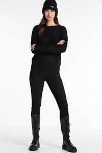 FREEQUENT gebreide trui zwart, Zwart