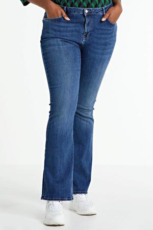 flared jeans Naomi regular waist light denim