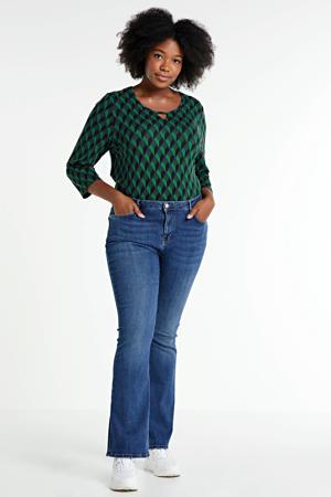 flared jeans NAOMI light denim