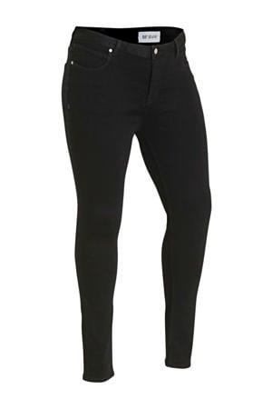 skinny jeans Jane regular waist zwart