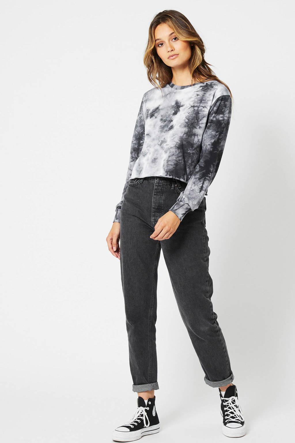 America Today tie-dye sweater grijs, Grijs