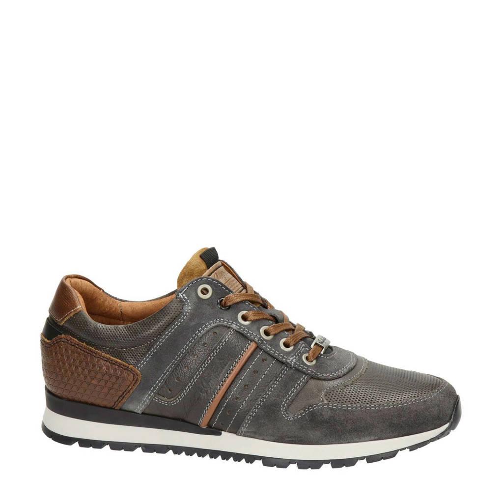 Australian Arrowhead  leren sneakers bruin, Bruin