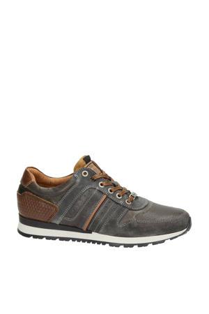 Arrowhead  leren sneakers bruin