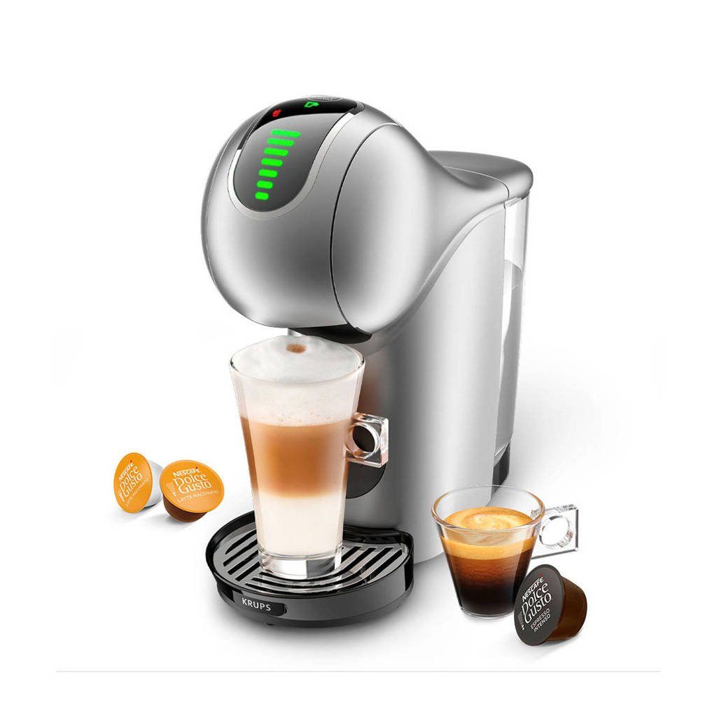 Krups Dolce Gusto Genio S Touch KP440E (zilver), Zilver