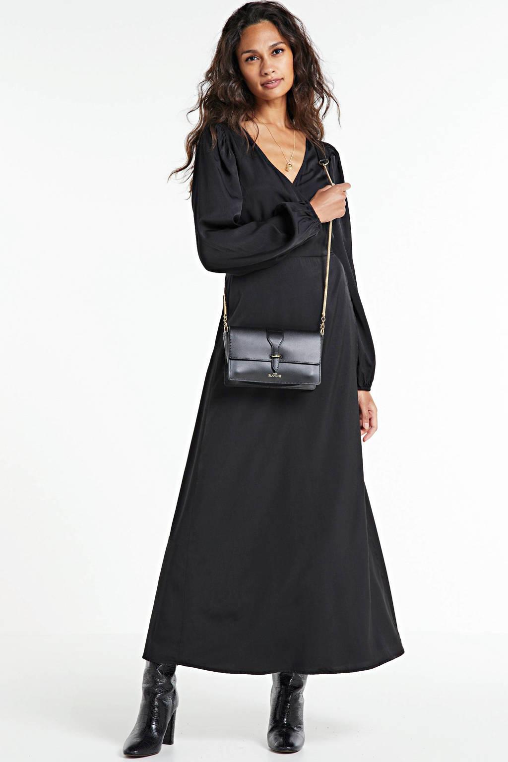 NA-KD wikkeljurk zwart, Zwart