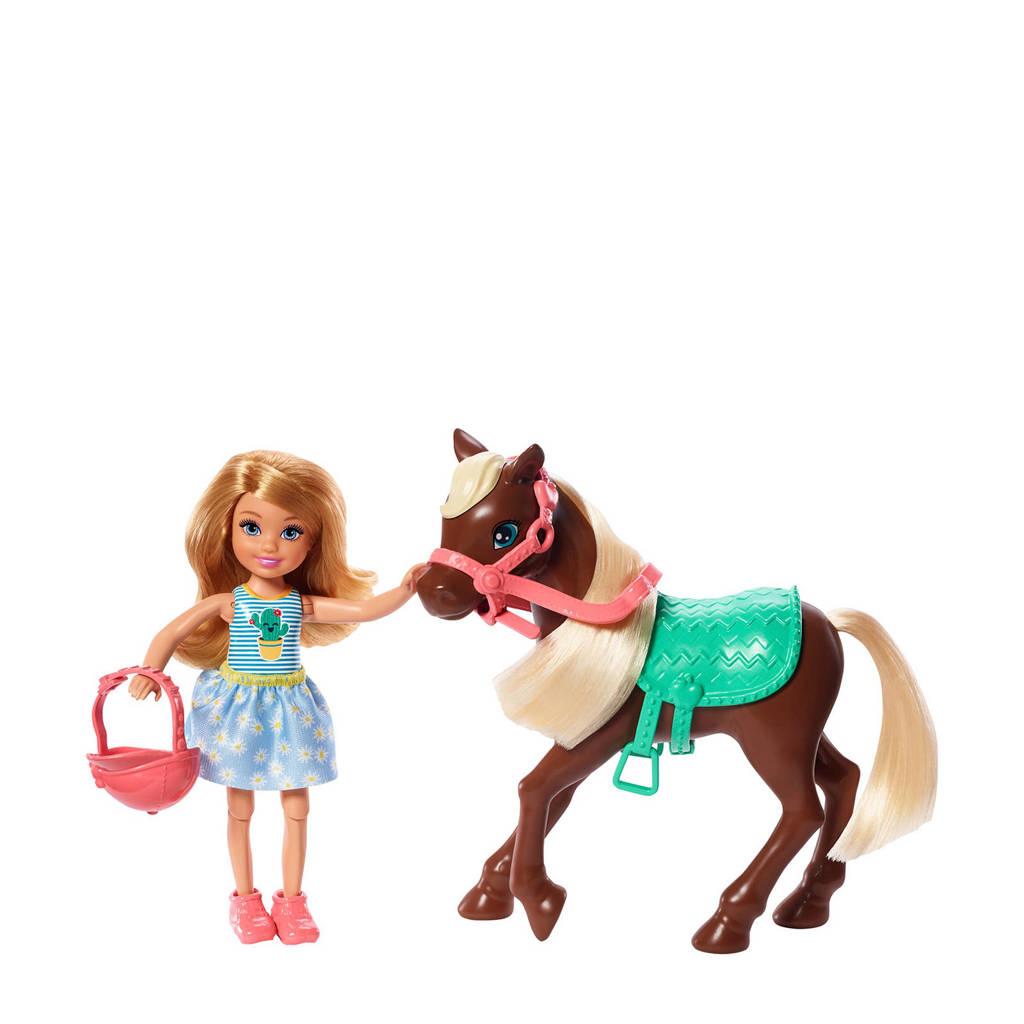 Barbie Chelsea & Pony (Blond)