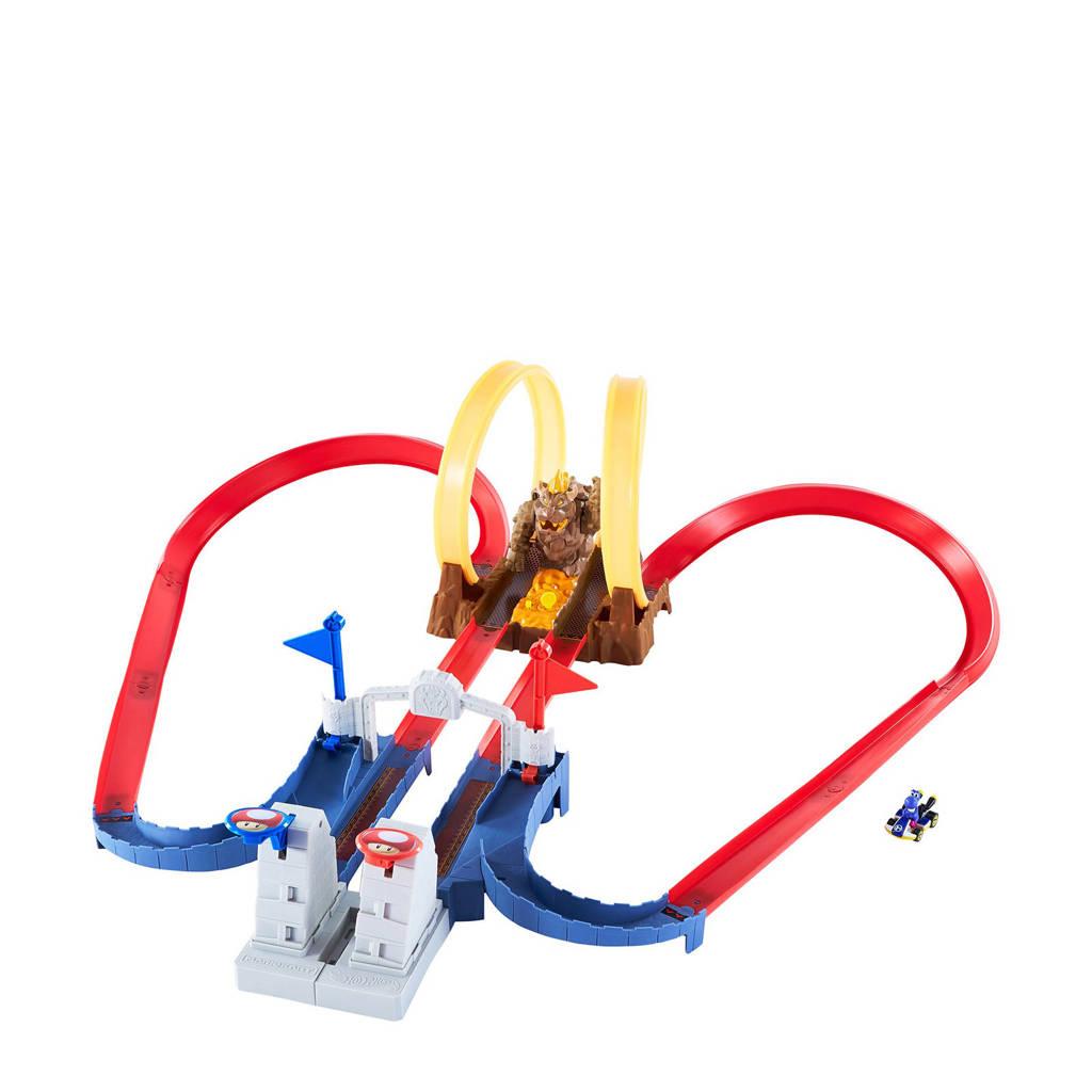 Hot Wheels  Mario Kart Chaos in het Kasteel van Bowser speelset