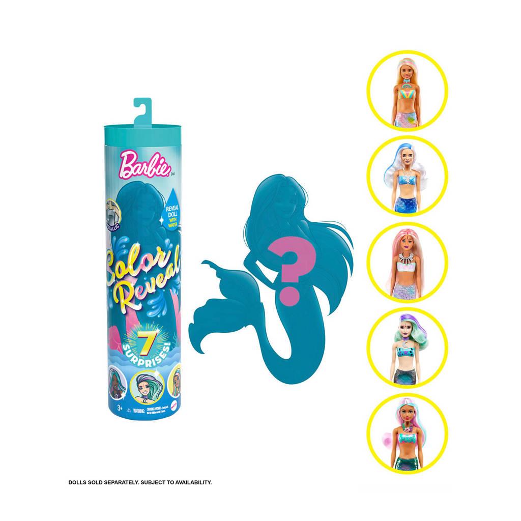 Barbie Colour Reveal Asst Wave 4 'Mermaids'