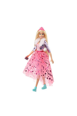 Princess Adventure LUXE Prinses Barbie