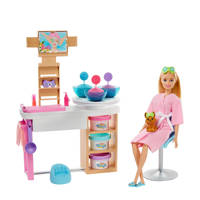 Barbie Gezichtsmasker Spadagje speelset (blond)