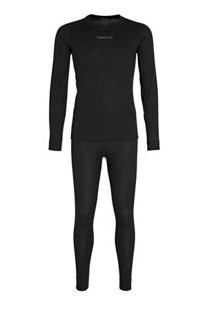 thermo ondergoed zwart (set)