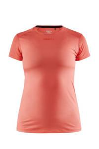 Craft sport T-shirt koraalrood, Koraalrood