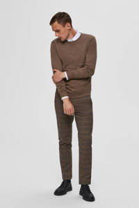 SELECTED HOMME wollen trui camel, Camel