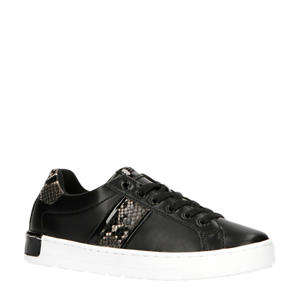 Kent Lace Up  sneakers zwart/slangenprint