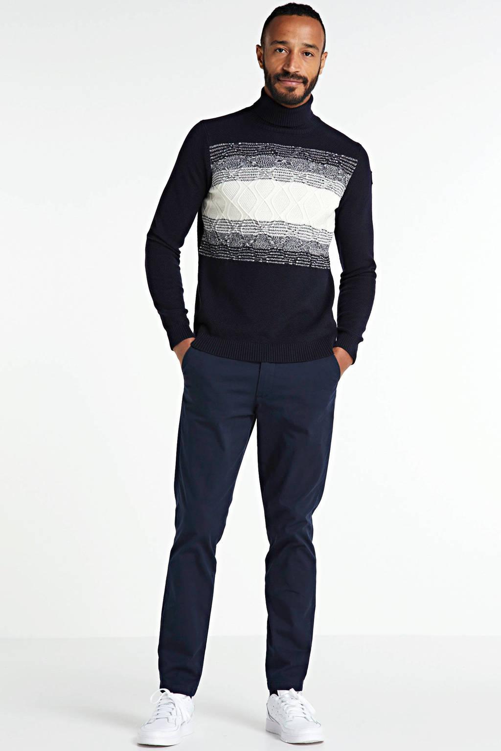 Vanguard trui zwart/wit/grijs, Zwart/wit/grijs