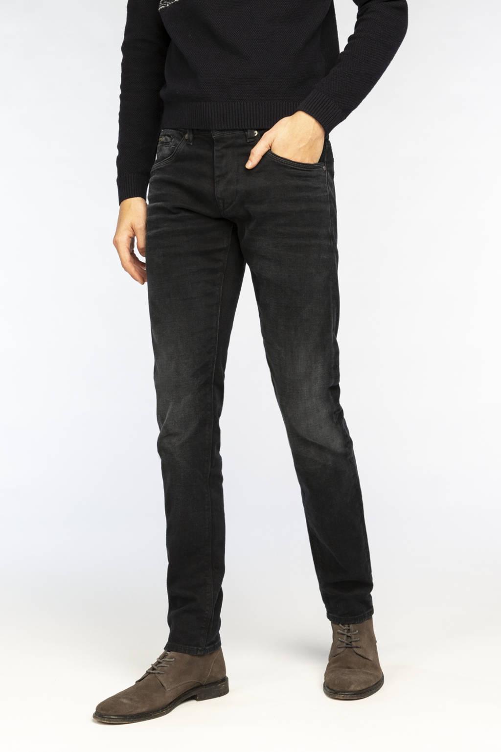 Vanguard slim fit jeans V850 Rider zwart, Zwart