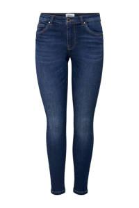 ONLY skinny jeans Wauw met biologisch katoen donkerblauw, Donkerblauw