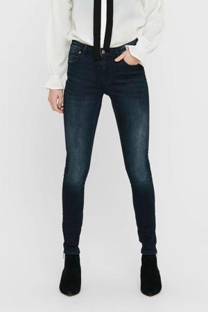 skinny jeans met biologisch katoen donkerblauw