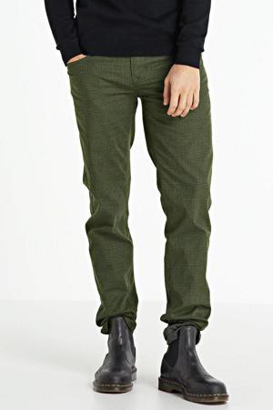 geruite broek Nightflight groen