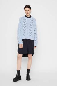 PIECES trui lichtblauw, Lichtblauw