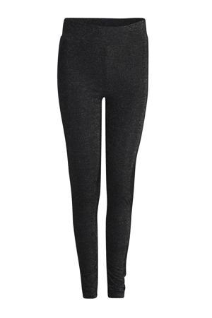 lurex legging zwart
