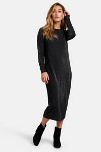 Eksept by Shoeby jurk Elise met glitters zwart, Zwart