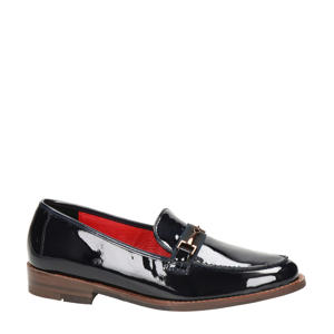 leren loafers zwart
