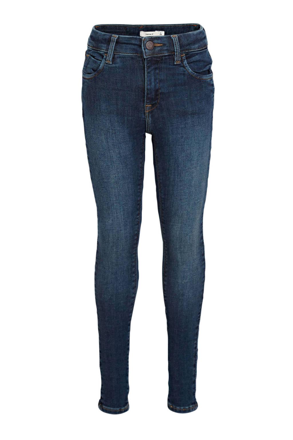 NAME IT KIDS skinny jeans Polly dark denim, Dark denim