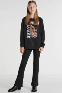 KIDS ONLY sweater Soleima met printopdruk zwart, Zwart