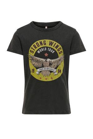 T-shirt Lucy van biologisch katoen zwart