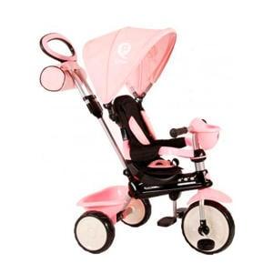 driewieler Comfort 4 in 1 meisjes roze