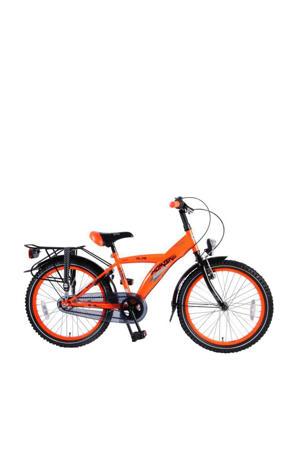 Thombike City kinderfiets jongens  20 inch neon oranje Shimano Nexus 3 versnellingen