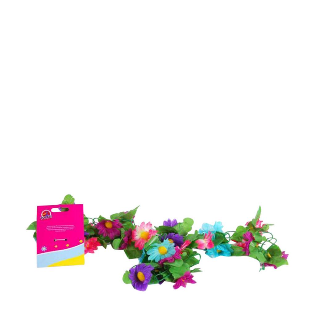 Volare bloemen guirlande meisjes Multicolor