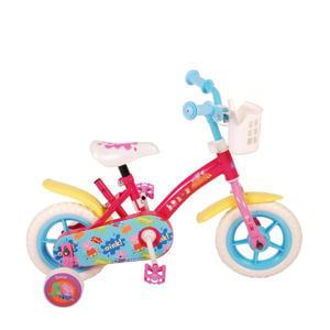 kinderfiets meisjes 10 inch roze/blauw