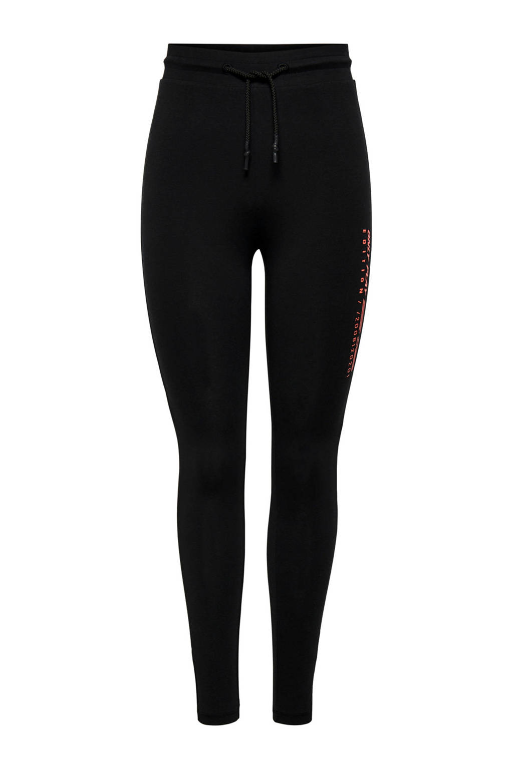 Only Play Curvy sportbroek zwart, Zwart