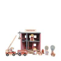 Little Dutch houten brandweerkazerne
