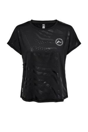 sport T-shirt Onay zwart