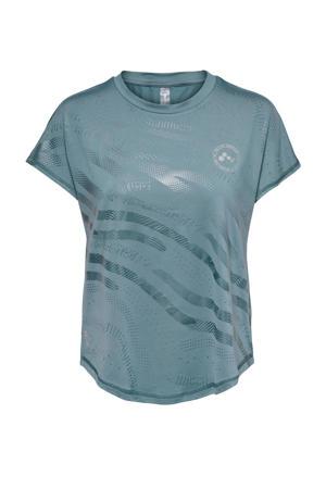 sport T-shirt Onay blauw
