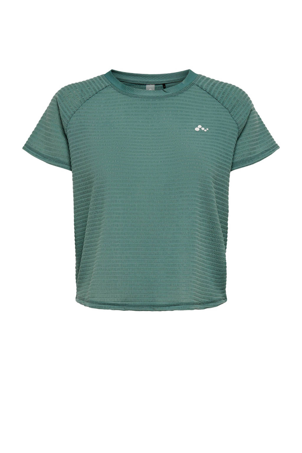 ONLY PLAY sport T-shirt Omelia groen, Groen