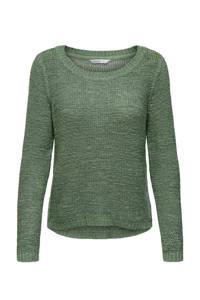 ONLY gebreide trui Geena groen, Groen