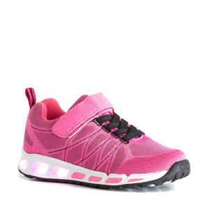 sneakers met lichtjes roze