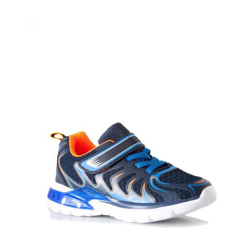 Scapino Blue Box sneakers met lichtjes blauw