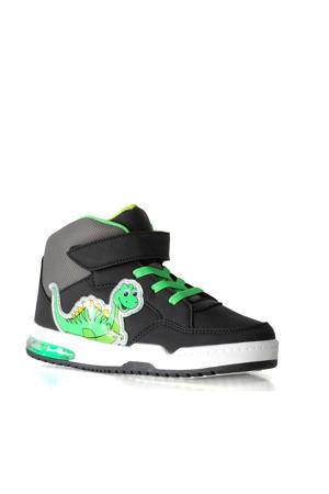 sneakers met lichtjes zwart/groen