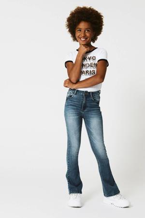flared jeans Kira stonewashed