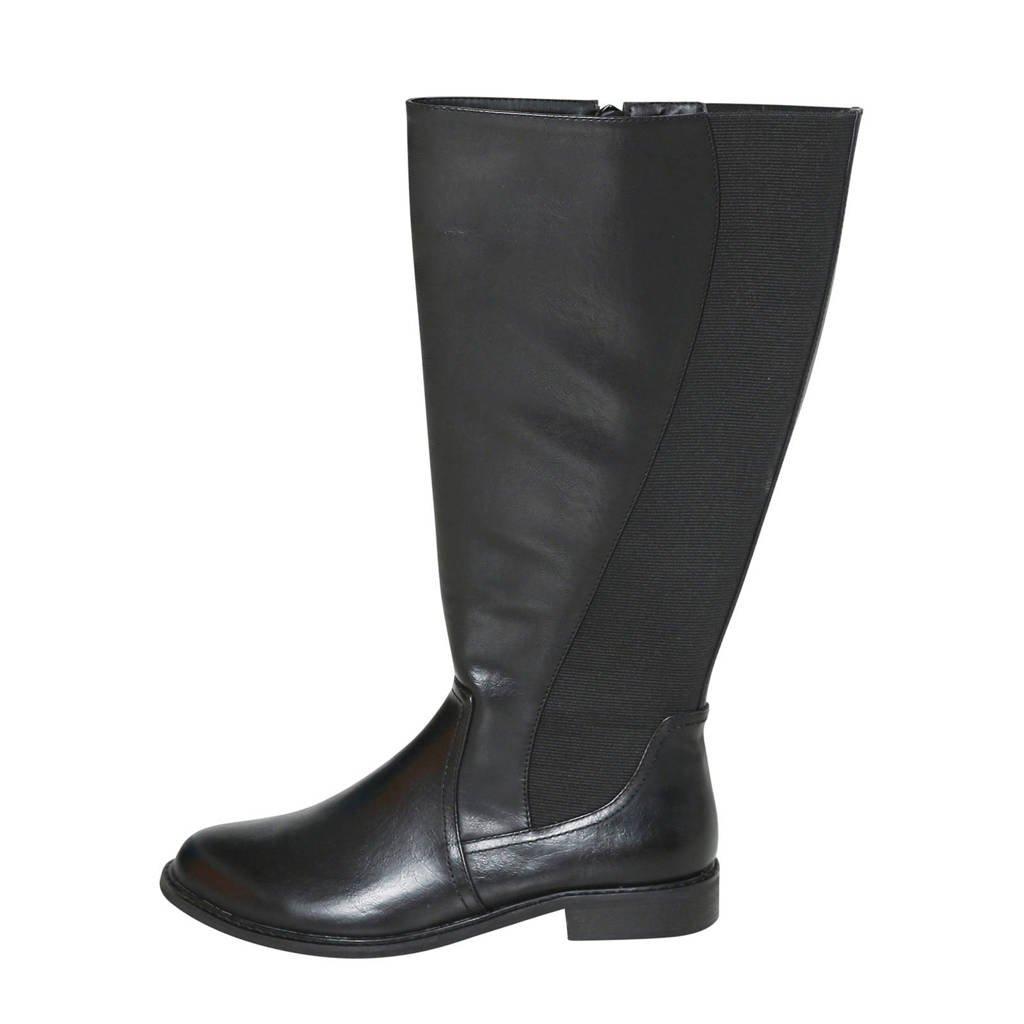Paprika   laarzen zwart, Zwart